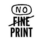 No Fine Print