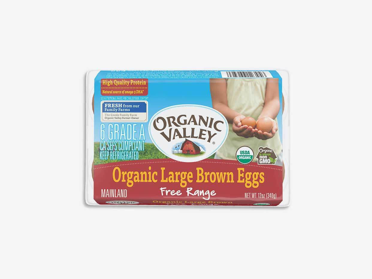 Organic Valley Large Brown Eggs