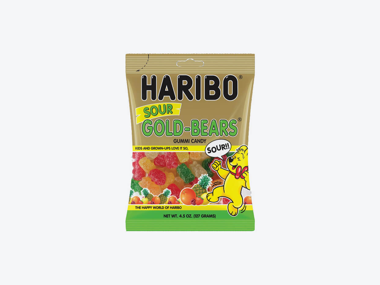 HARIBO Sour Gummy Bears