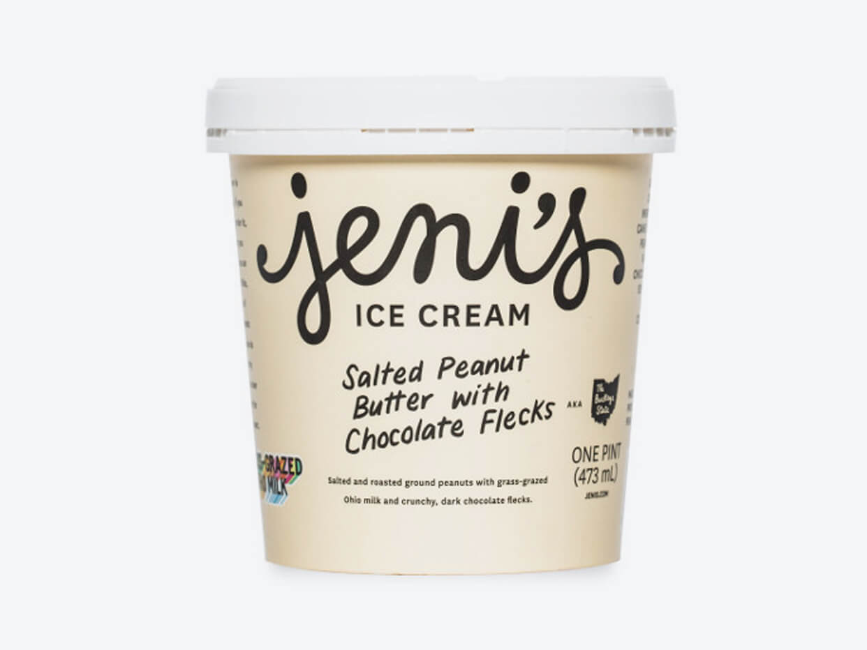 Jeni's Ice Cream - Salted Peanut Butter with Chocolate Flecks