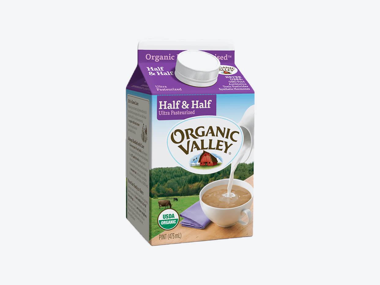 Organic Valley Half & Half