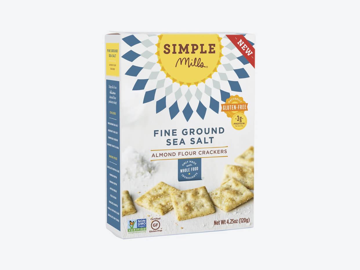 Simple Mills Crackers - Fine Ground Sea Salt