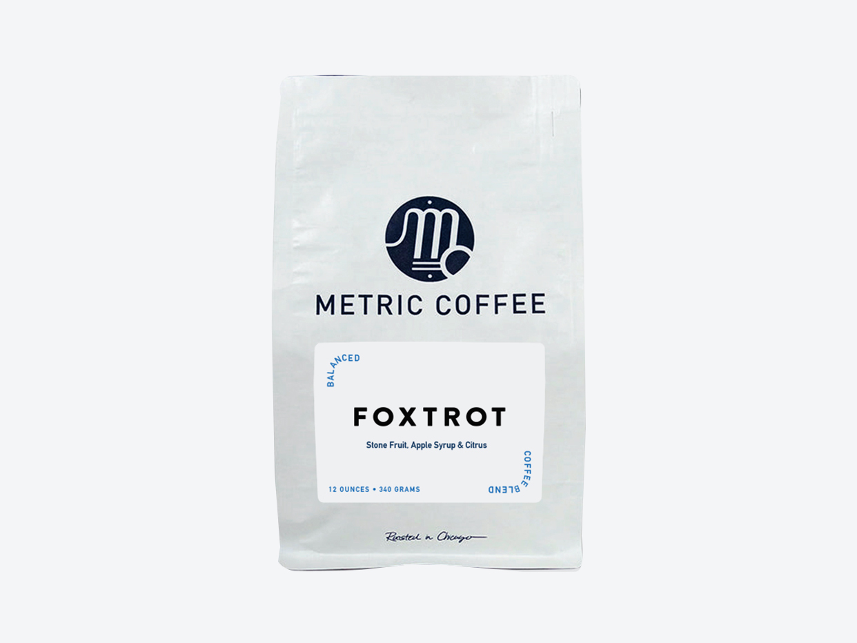 Metric Coffee - Foxtrot Blend Whole Bean
