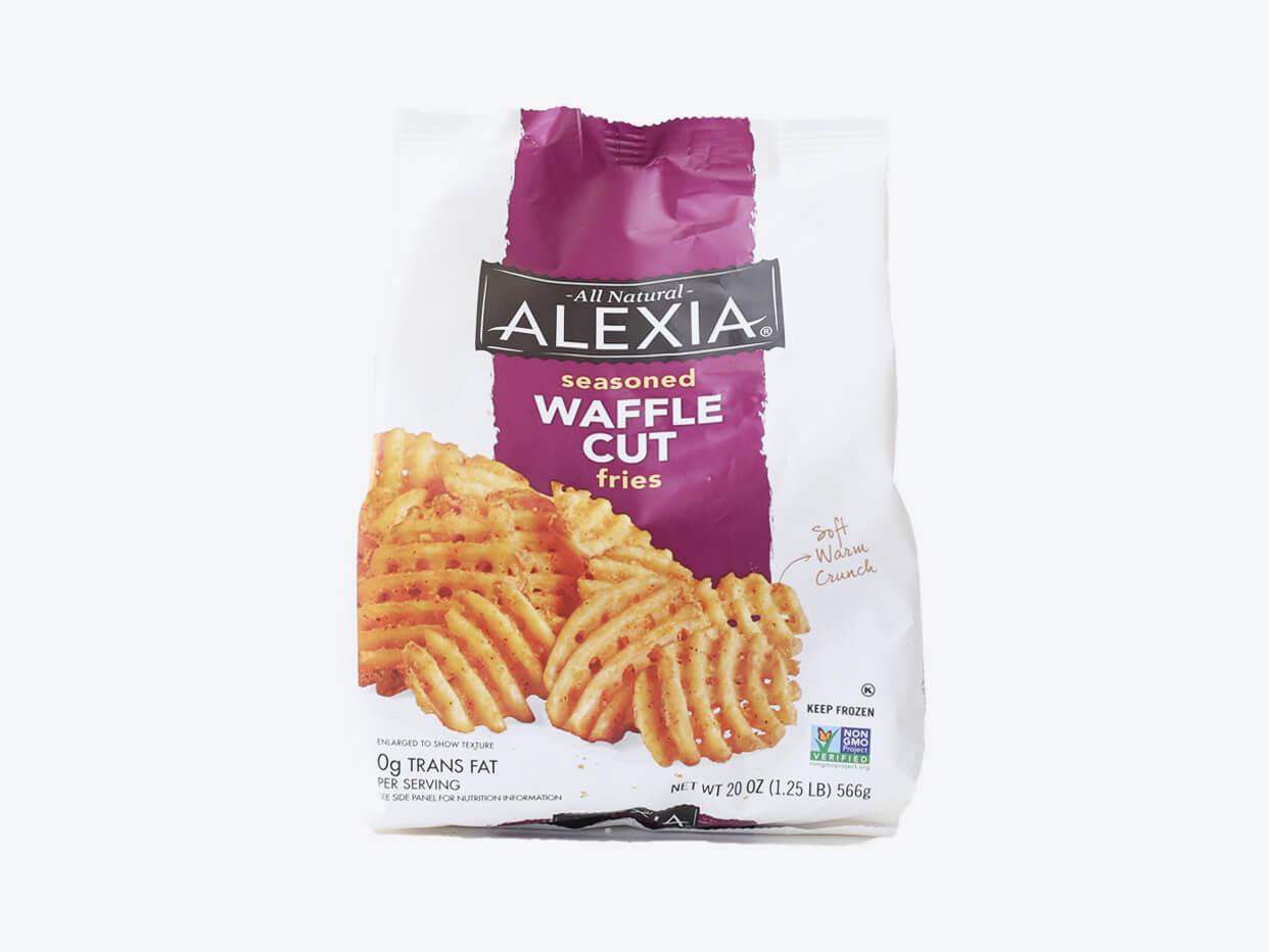 Alexia Seasoned Waffle Fries