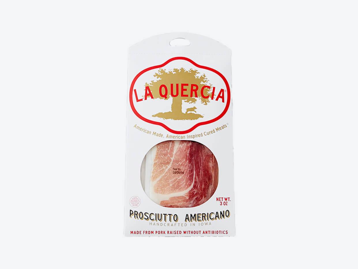 La Quercia Prosciutto Americano - Sliced