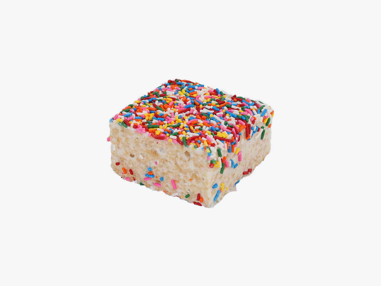 Lolli and Pops Crispy Cakes - Rainbow Sprinkles