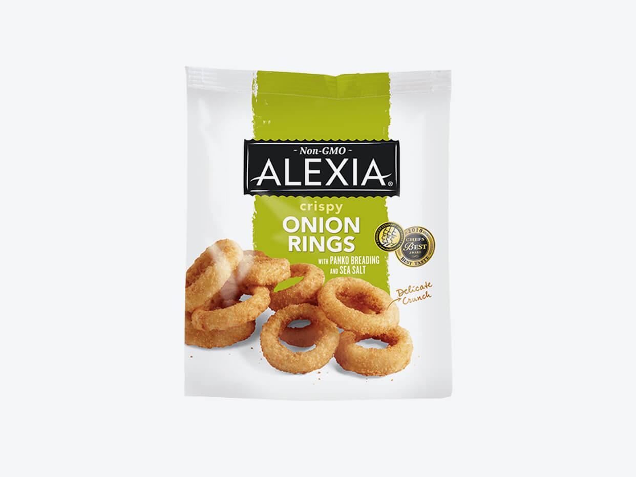 Alexia Onion Rings - Panko & Sea Salt