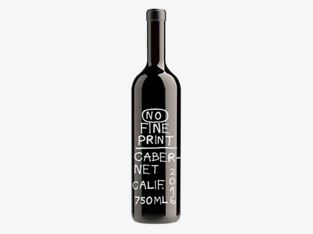 No Fine Print, Cabernet Sauvignon