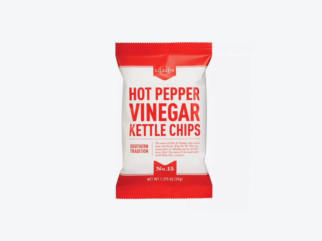 Lillie's Q Kettle Chips - Hot Pepper Vinegar