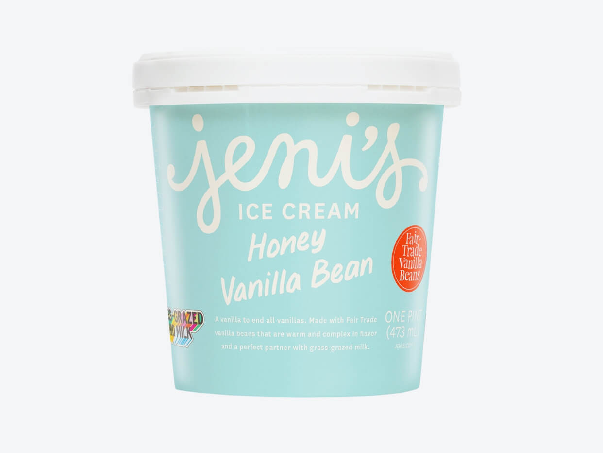Jeni's Ice Cream - Honey Vanilla Bean