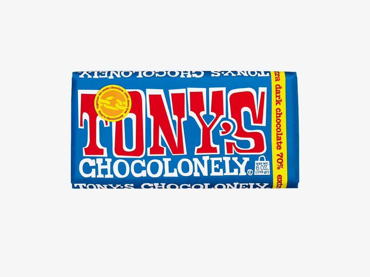 Tony's Chocolonely -  Dark Chocolate 70%