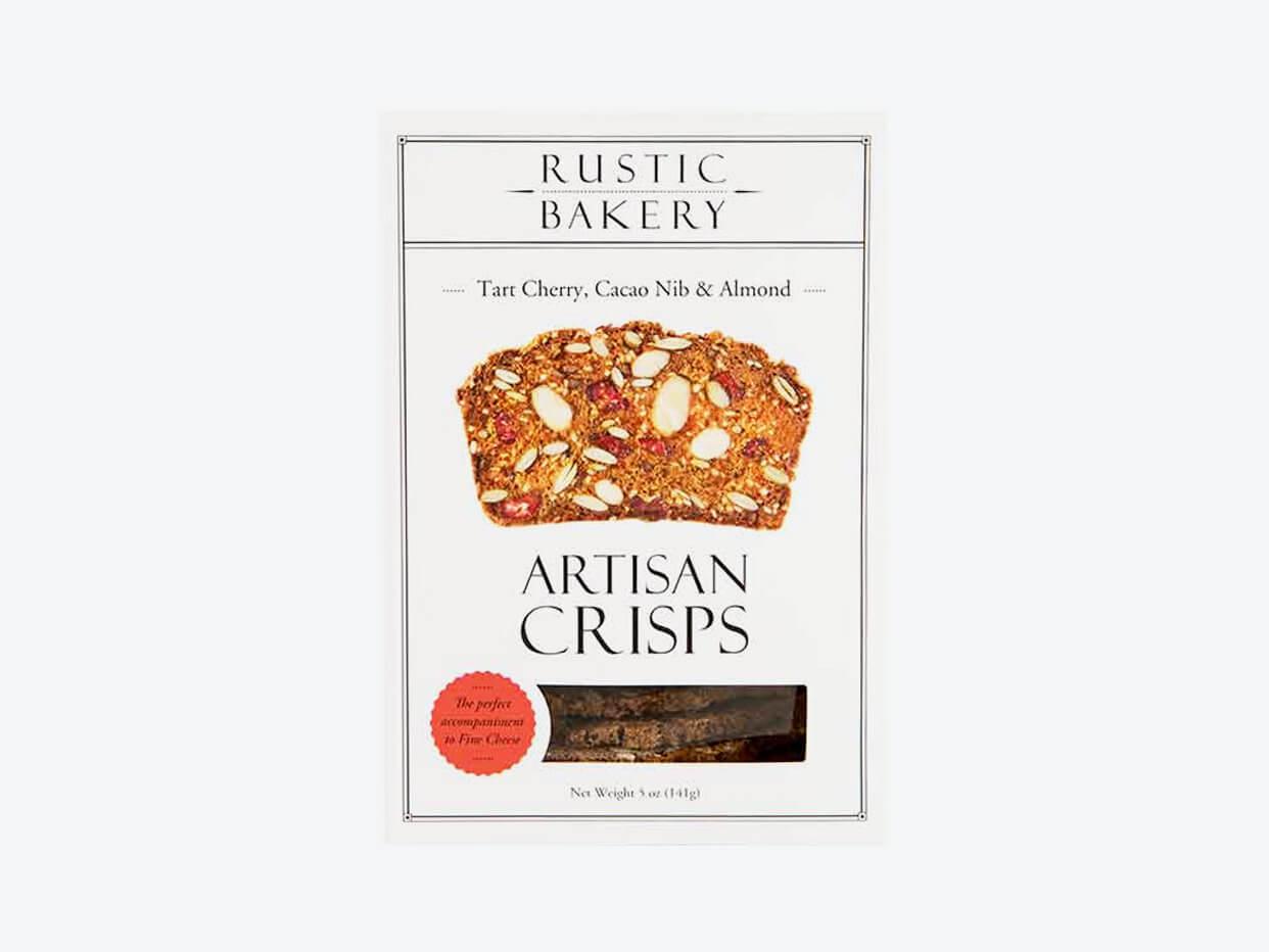 Rustic Bakery Artisan Crisps - Tart Cherry, Cacao and Almonds