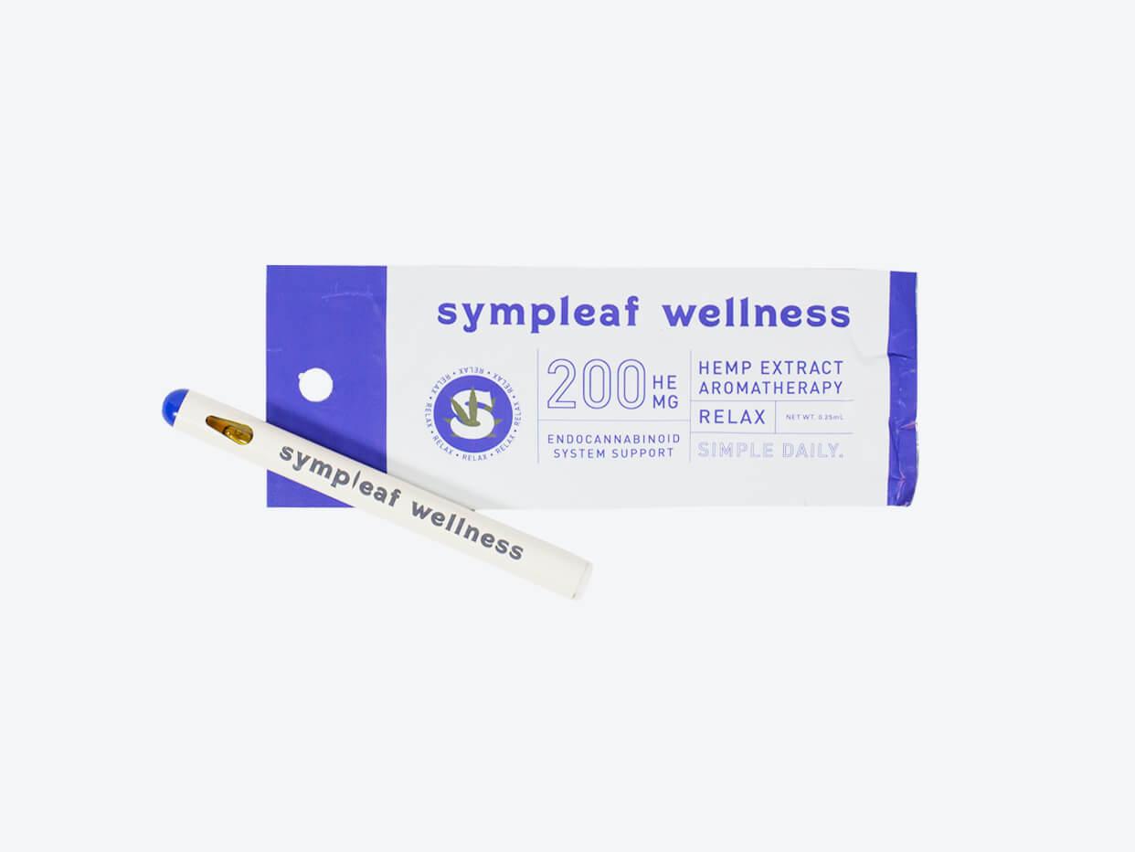 Sympleaf Cbd Aromatherapy Pen Relax Foxtrot
