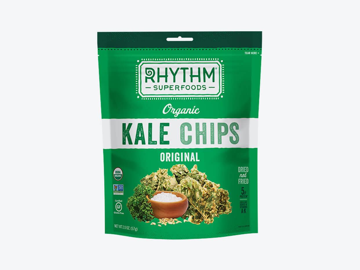 Rhythm Superfoods Kale Chips - Plain