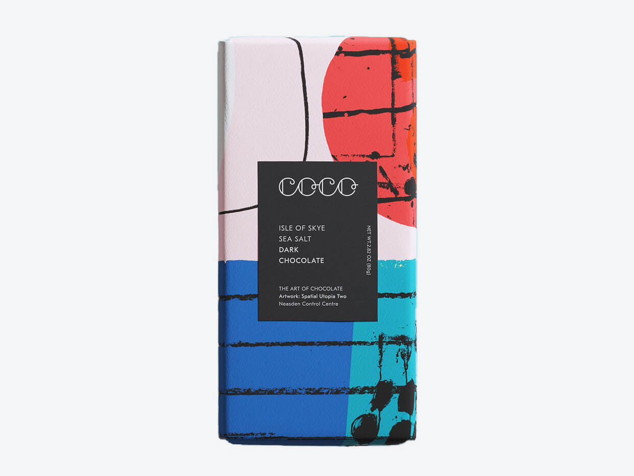 COCO Chocolatier - Isle of Sea Salt - Dark