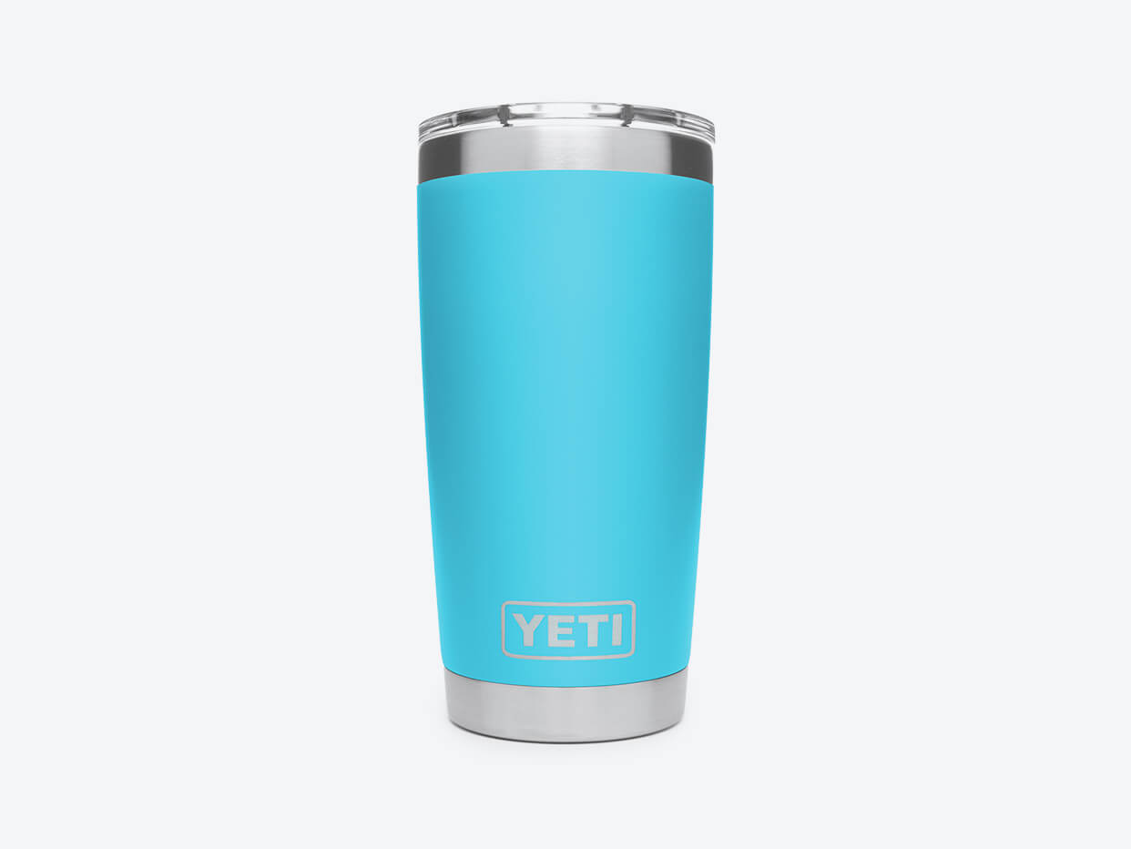 YETI Rambler Tumbler - 20 oz Reef Blue