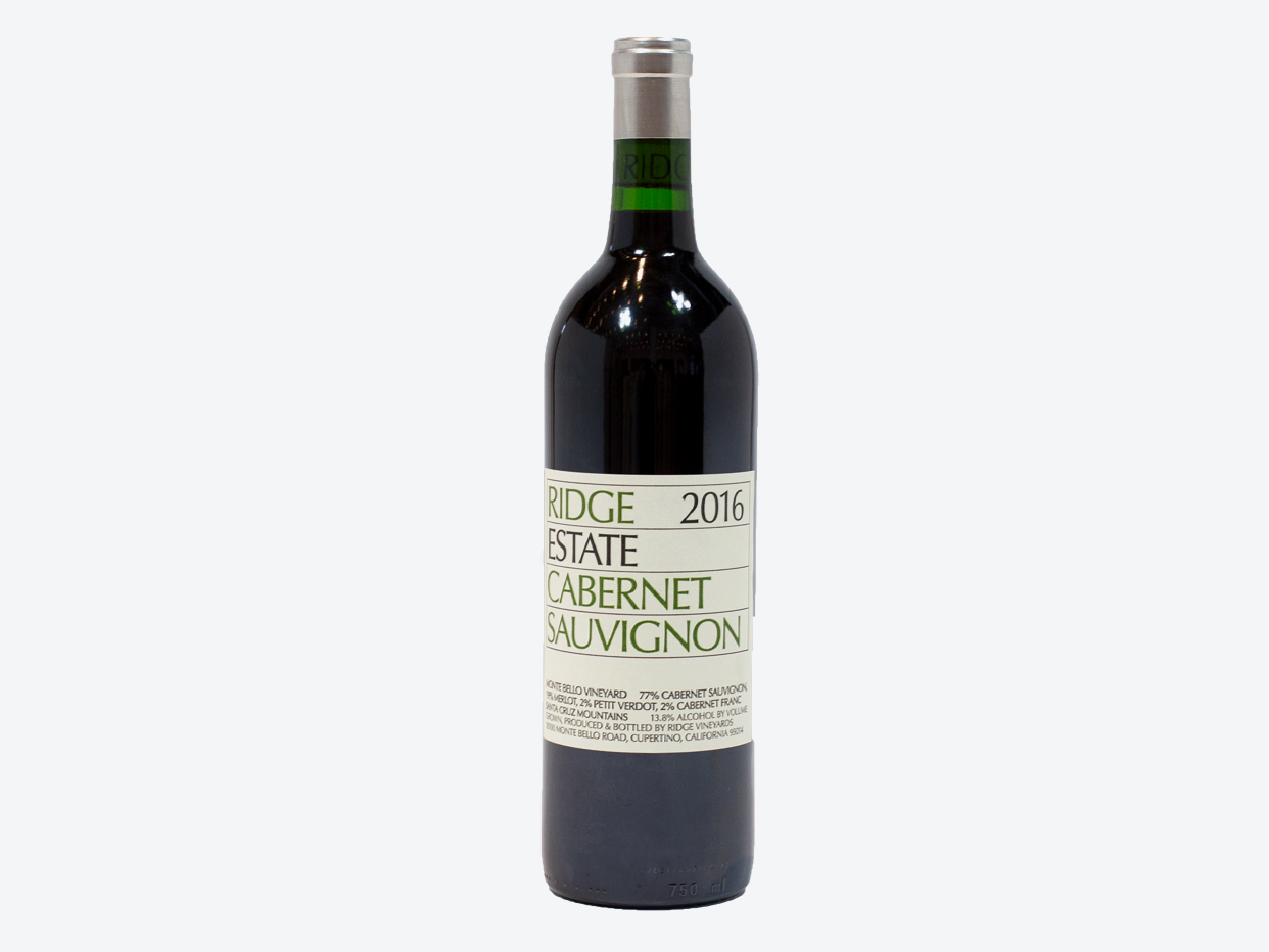 Ridge Vineyards Estate Cabernet Sauvignon