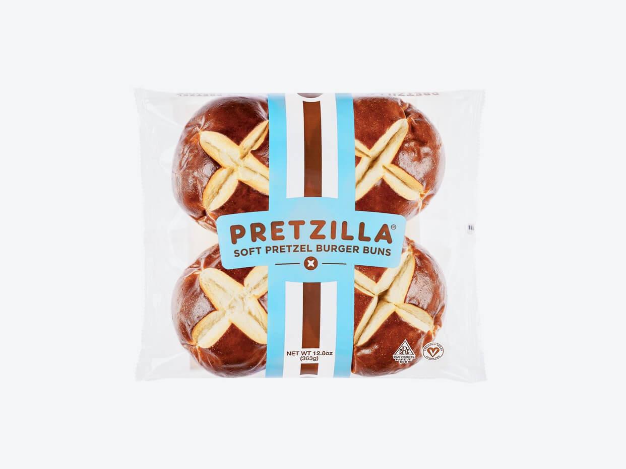 Pretzilla Burger Buns
