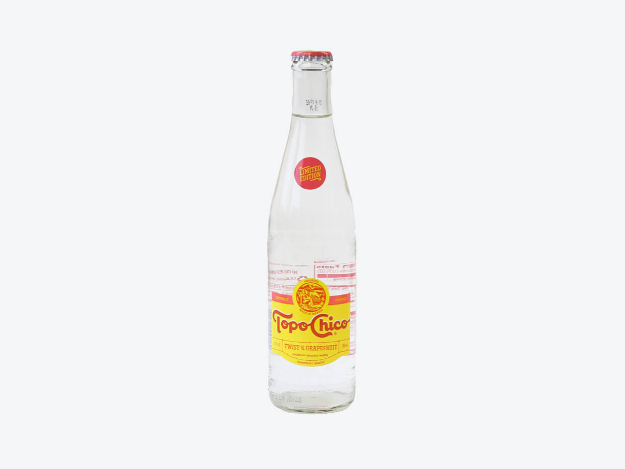 Topo Chico Grapefruit Sparkling Mineral Water
