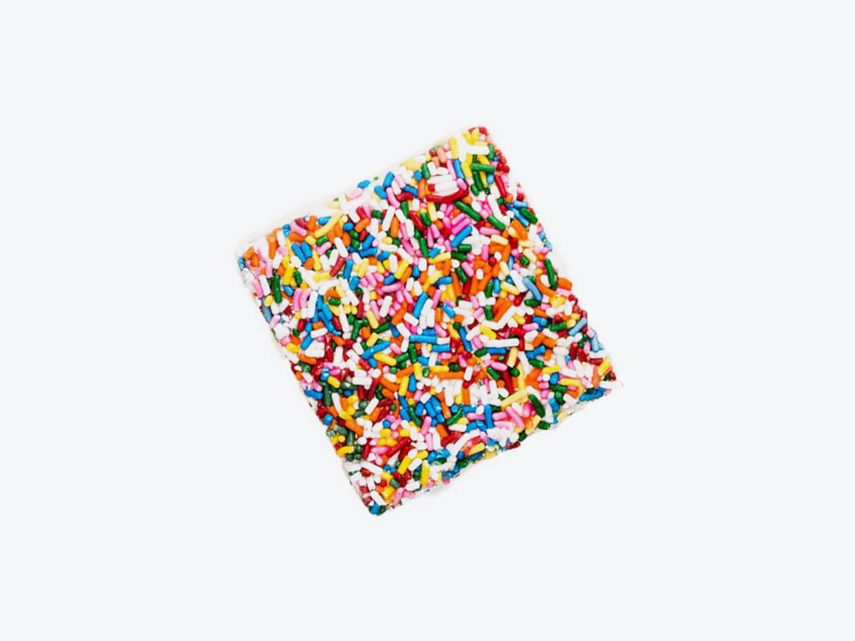 Rainbow Sprinkles Crispy Cake