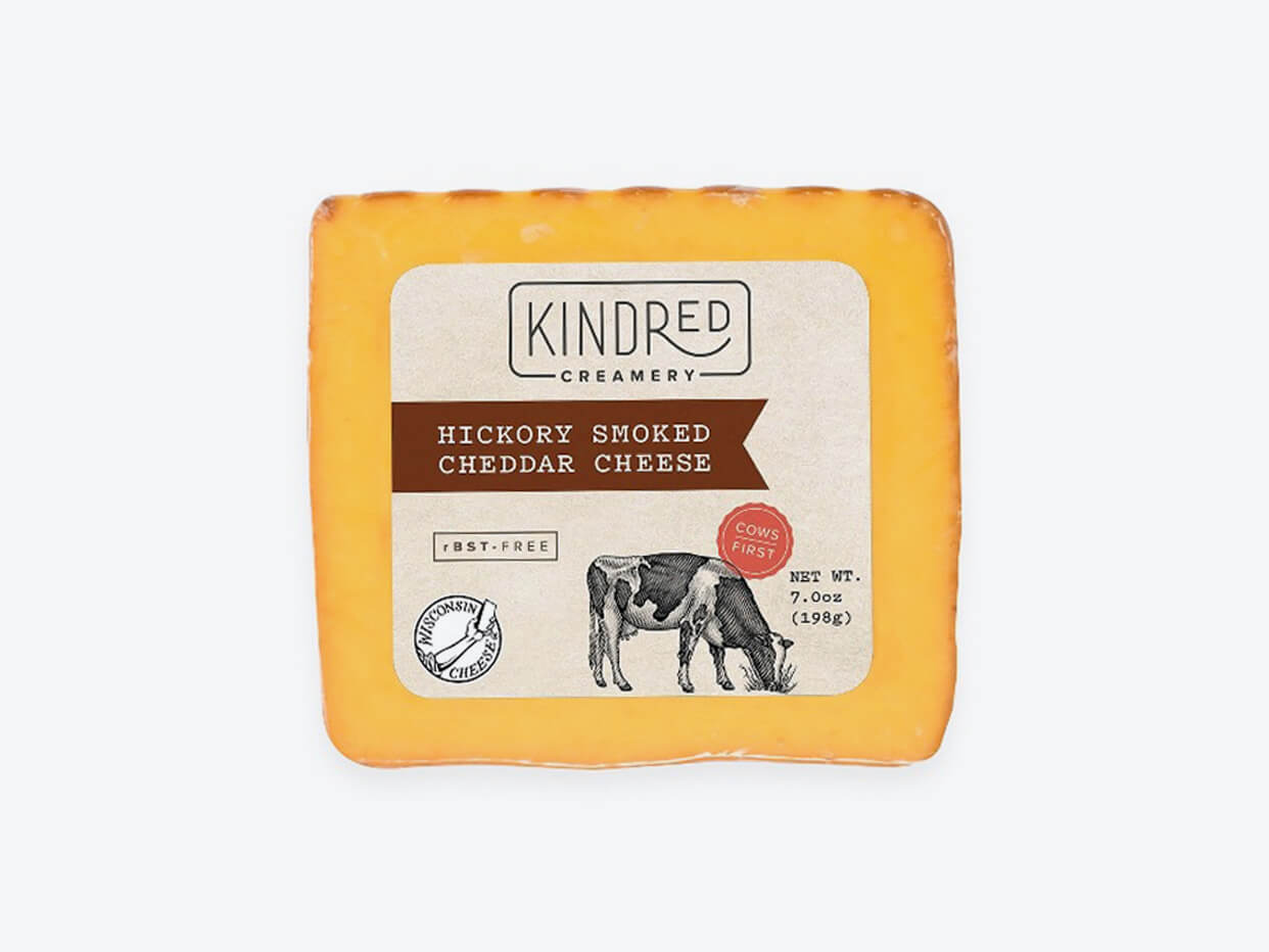 Kindred Creamery Hickory Smoked Cheddar