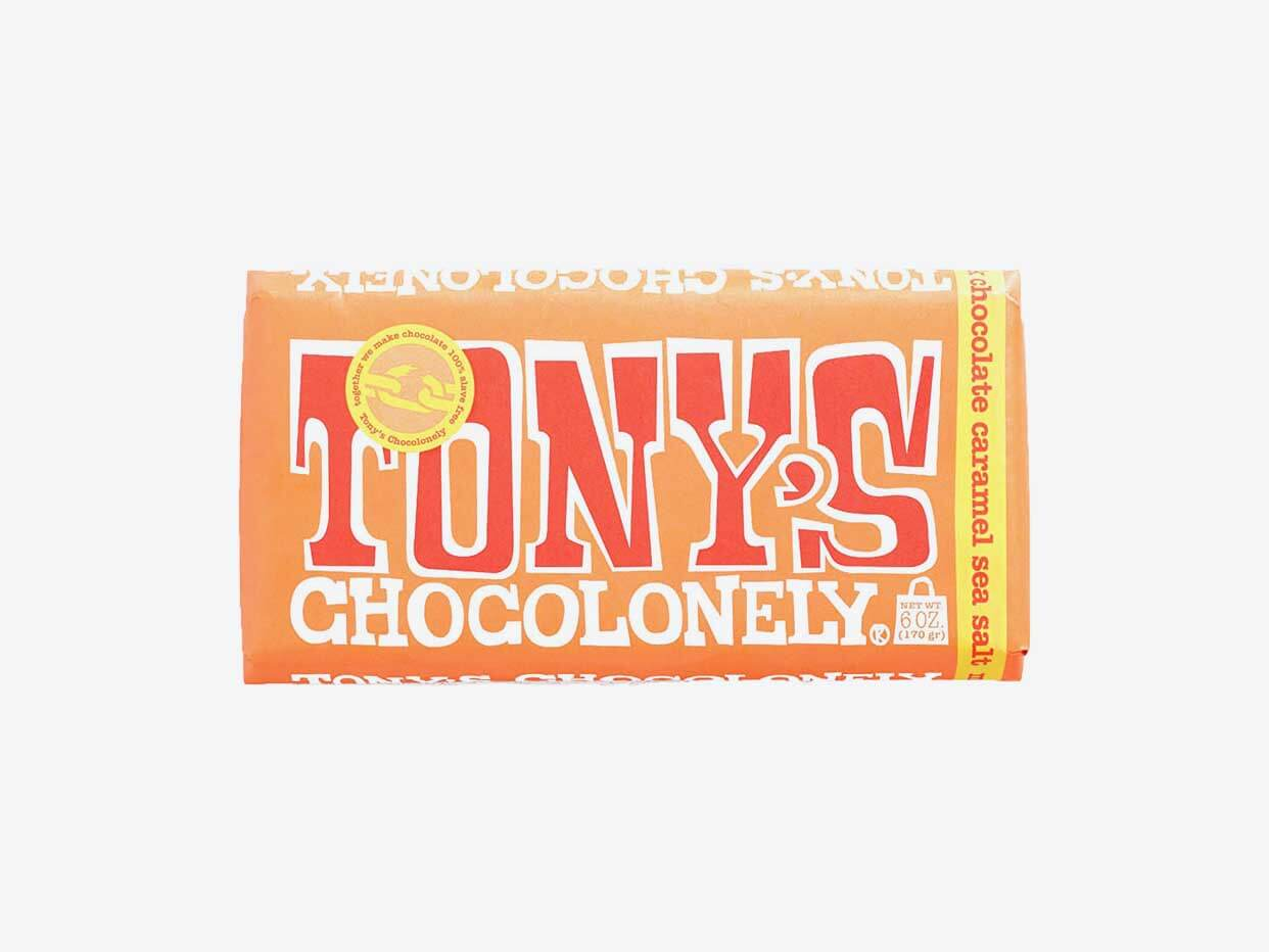Tony's Chocolonely - Milk Chocolate Caramel Sea Salt