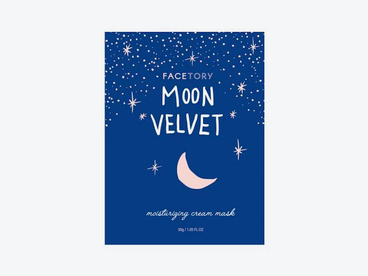Facetory: Moon Velvet Moisturizing Cream Mask