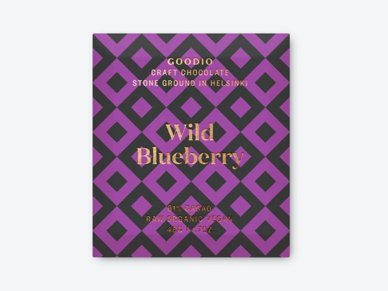 Goodio Chocolate - Wild Blueberry