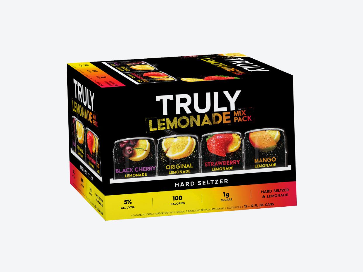 Truly Hard Seltzer Lemonade Variety 12pk