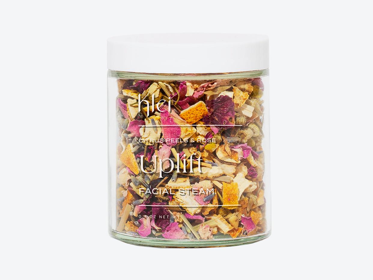 Citrus Peels & Rose Uplift Floral Facial Steam