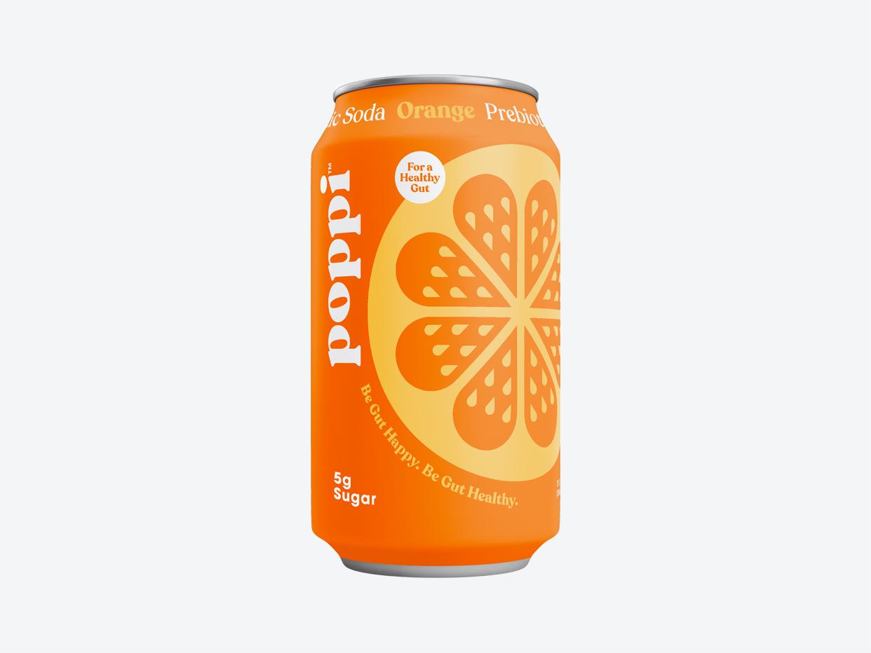 Poppi Prebiotic Soda - Orange
