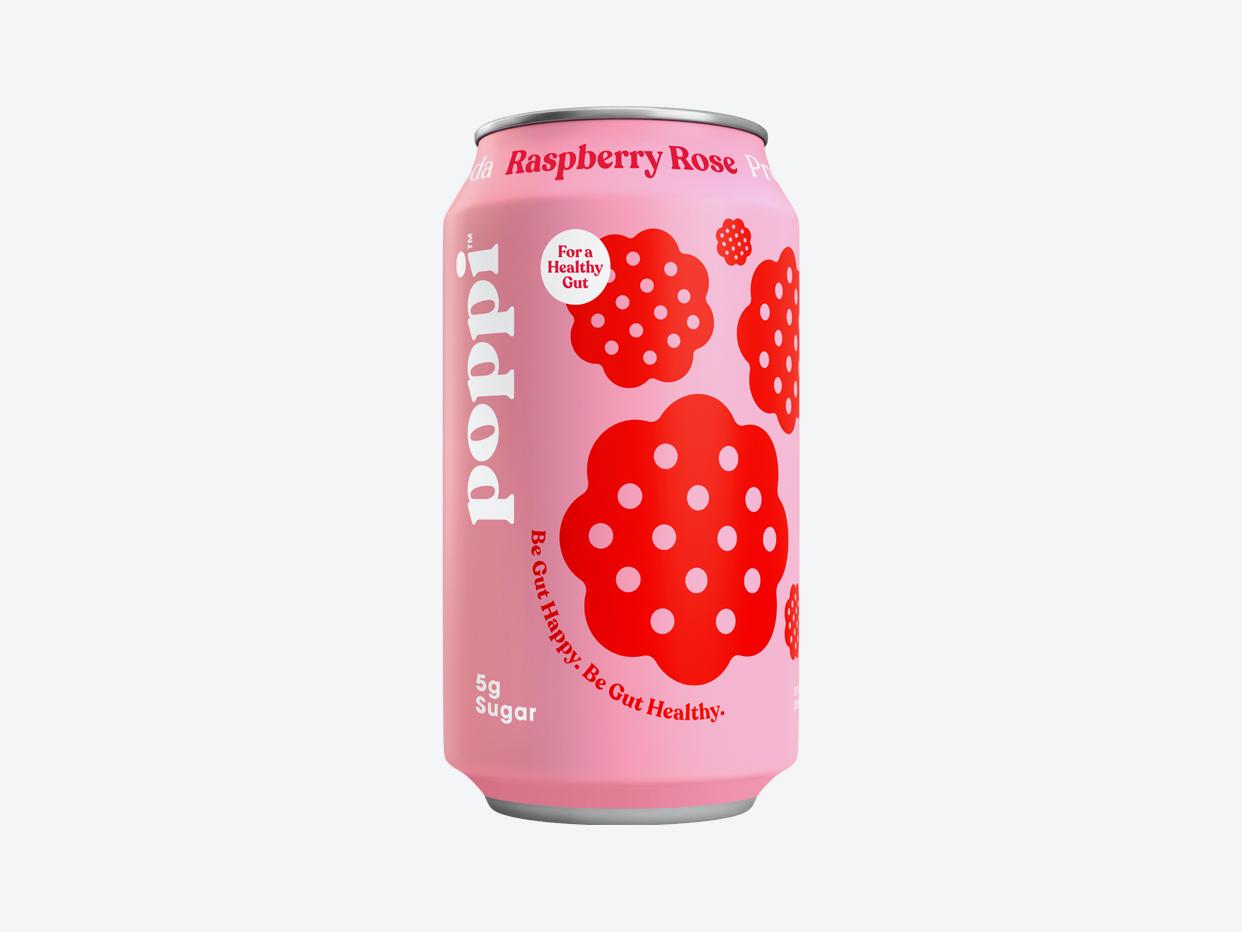 Poppi Prebiotic Soda - Raspberry Rose