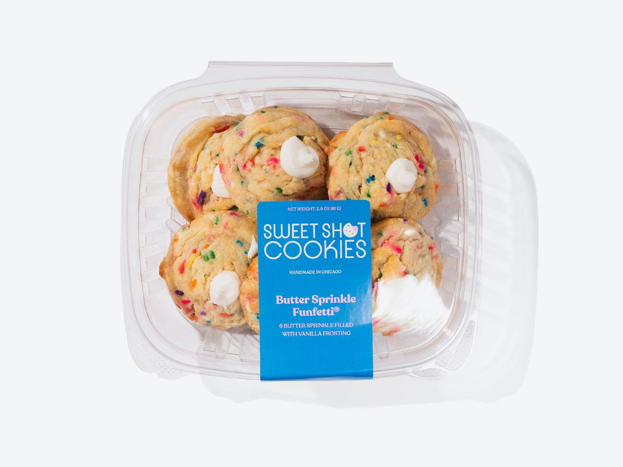 Sweet Shot Cookies - Funfetti Cookies