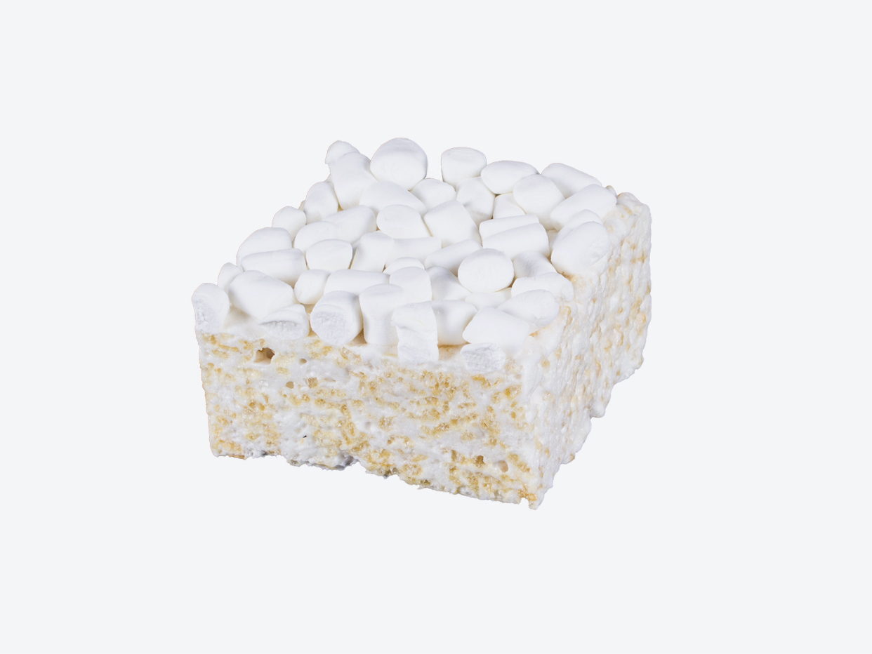 Mini Marshmallows Crispy Cake