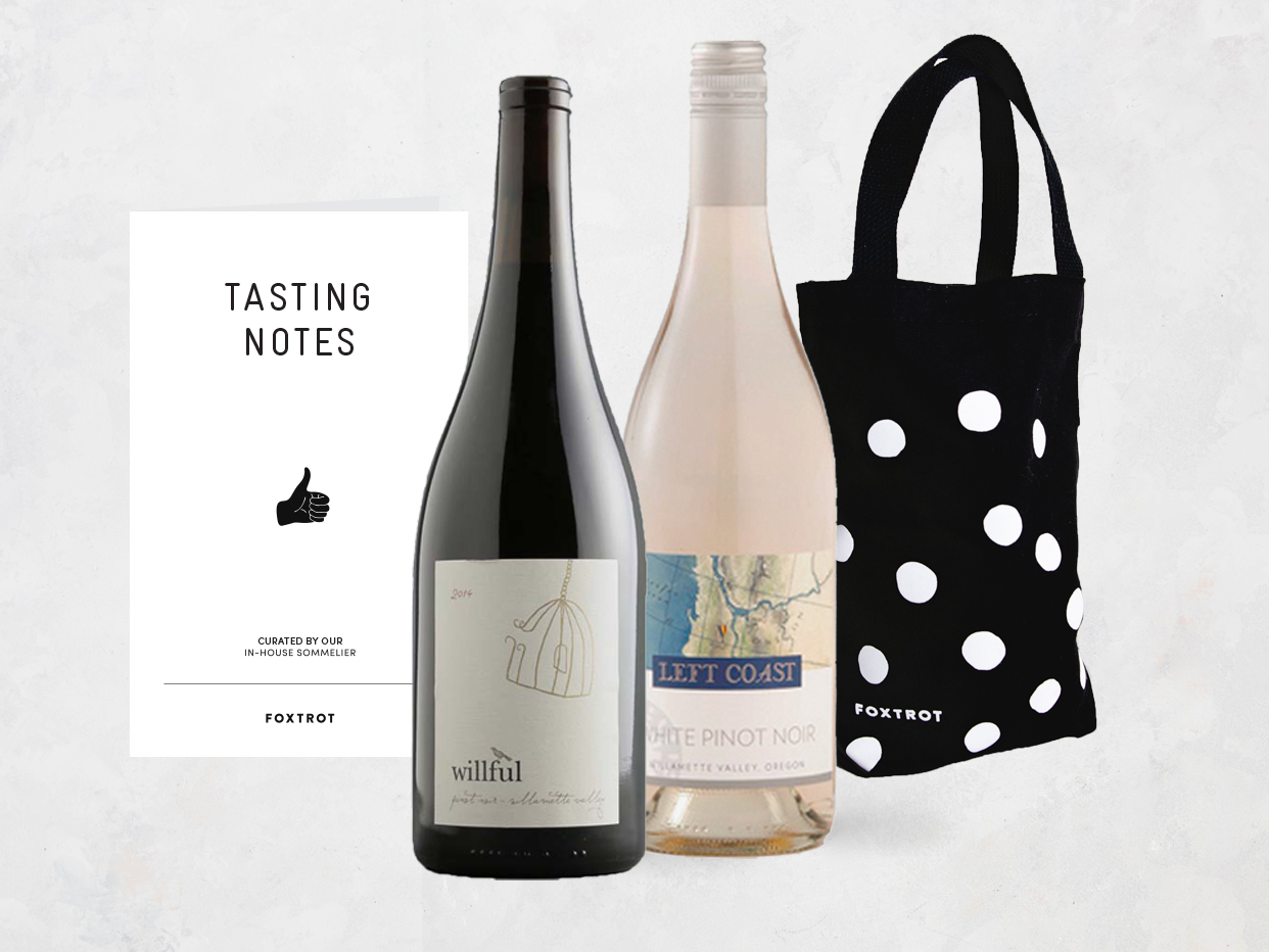 Oregon Pinot Noir: Two Ways