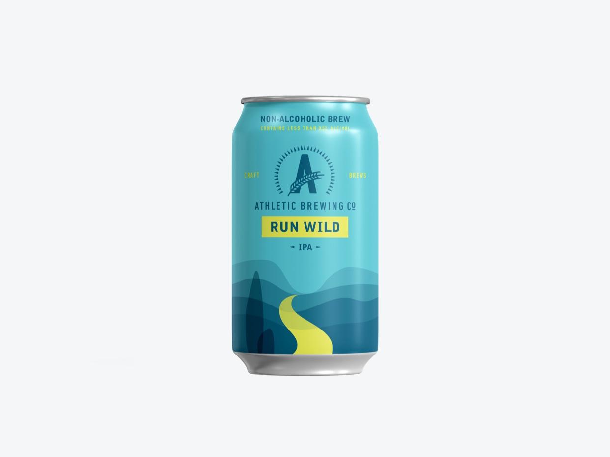 Athletic Brewing Co. - Run Wild Non-Alc. IPA