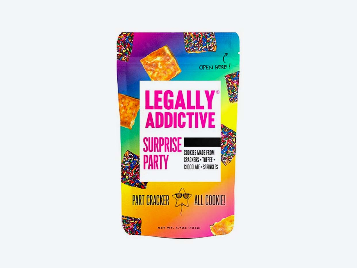 Legally Addictive Cracker Cookies - Surprise Party