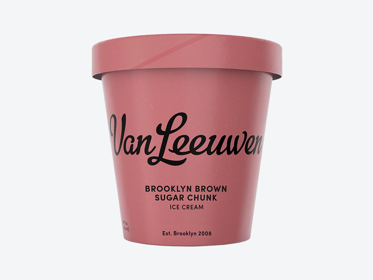 Van Leeuwen Artisan Ice Cream - Brooklyn Brown Sugar Chunk