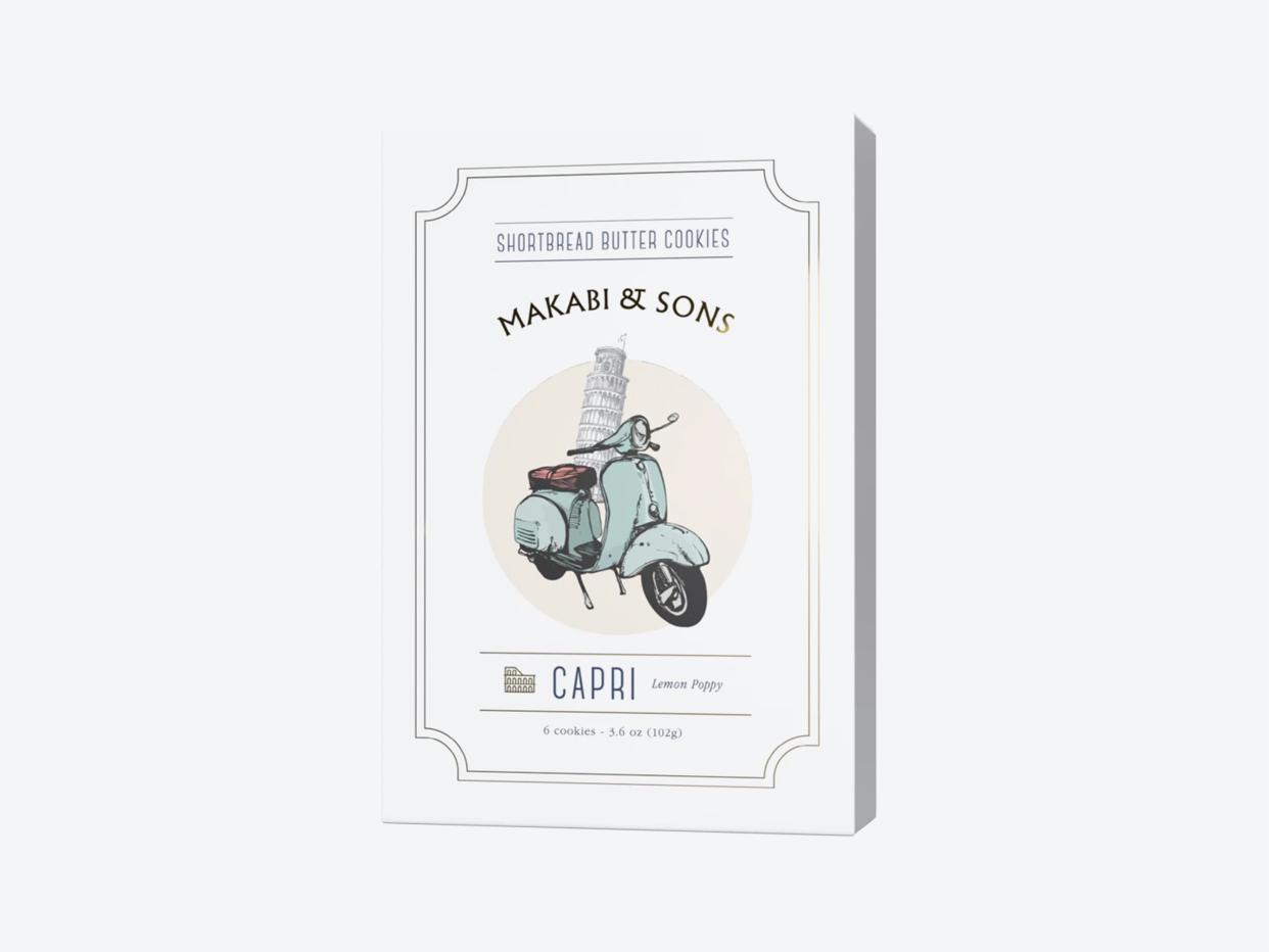 Makabi & Sons Shortbread Cookie - Capri Lemon Poppy