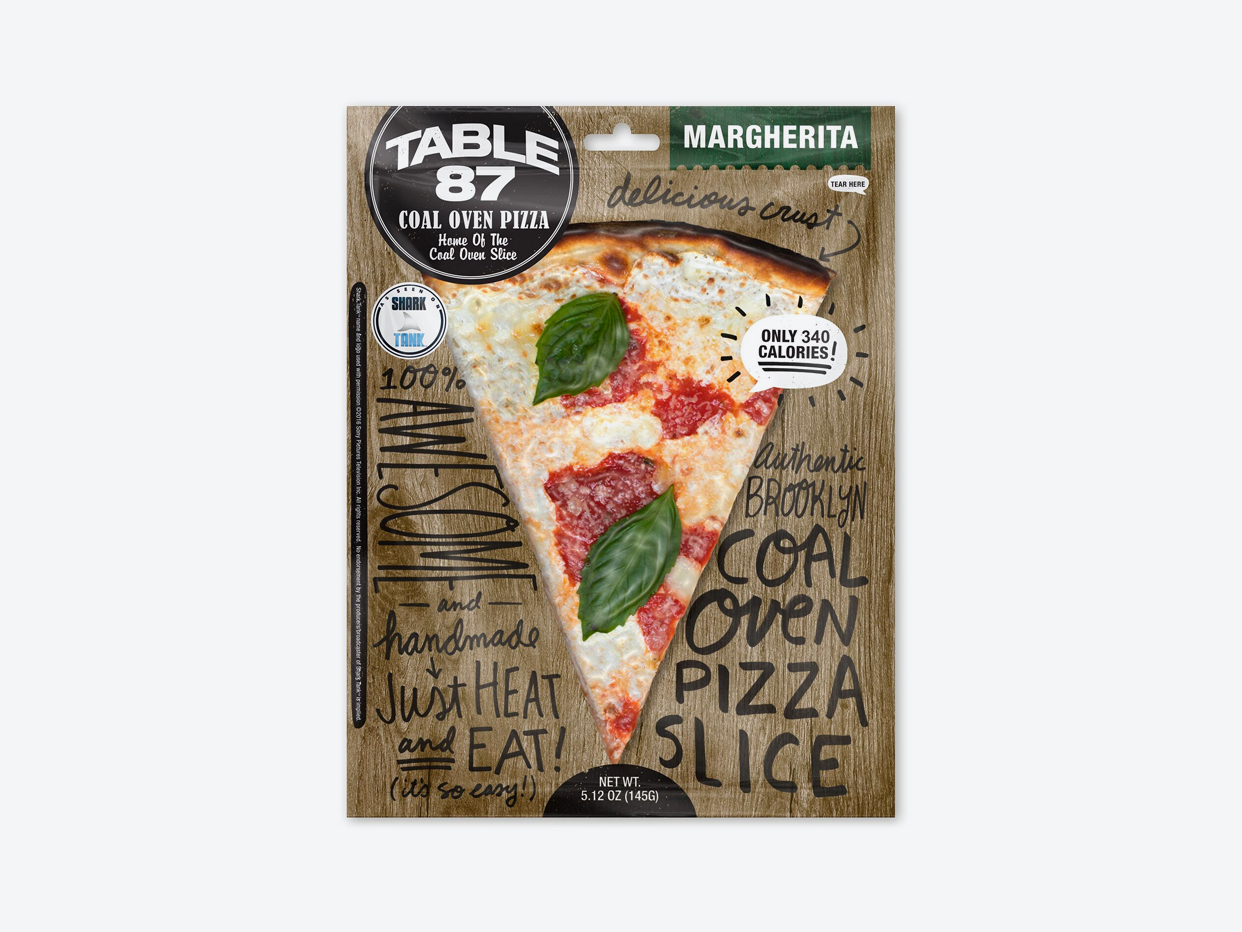 Table 87 Pizza - Margherita Coal Oven Slice