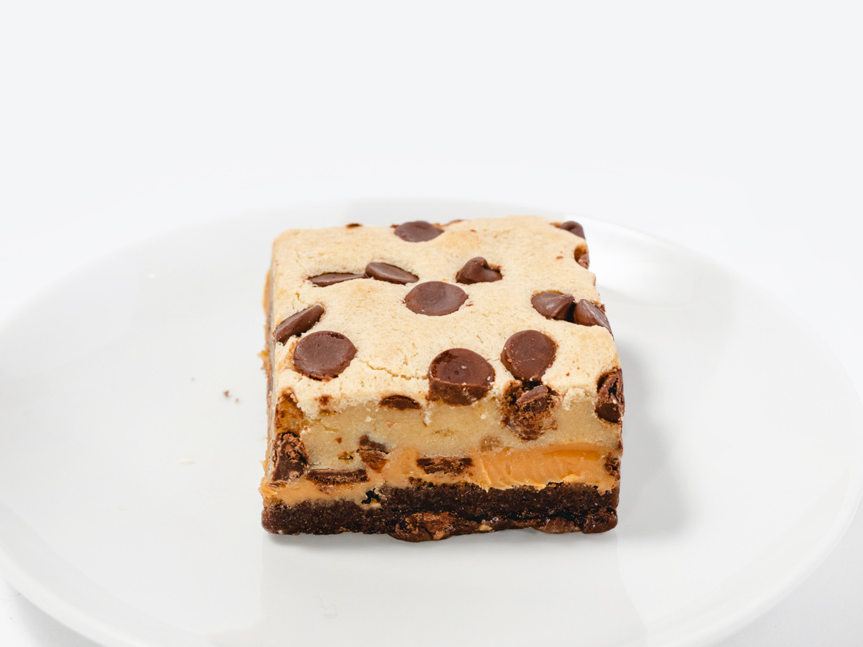 Foxtrot - Chocolate Chip Cookie Dough Deluxe Brownie