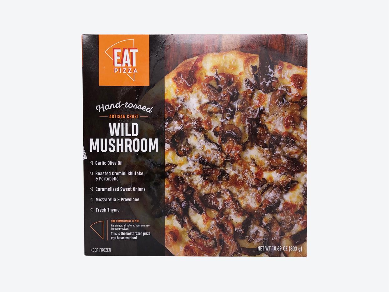 Eat Pizza - Wild Mushroom Pizza