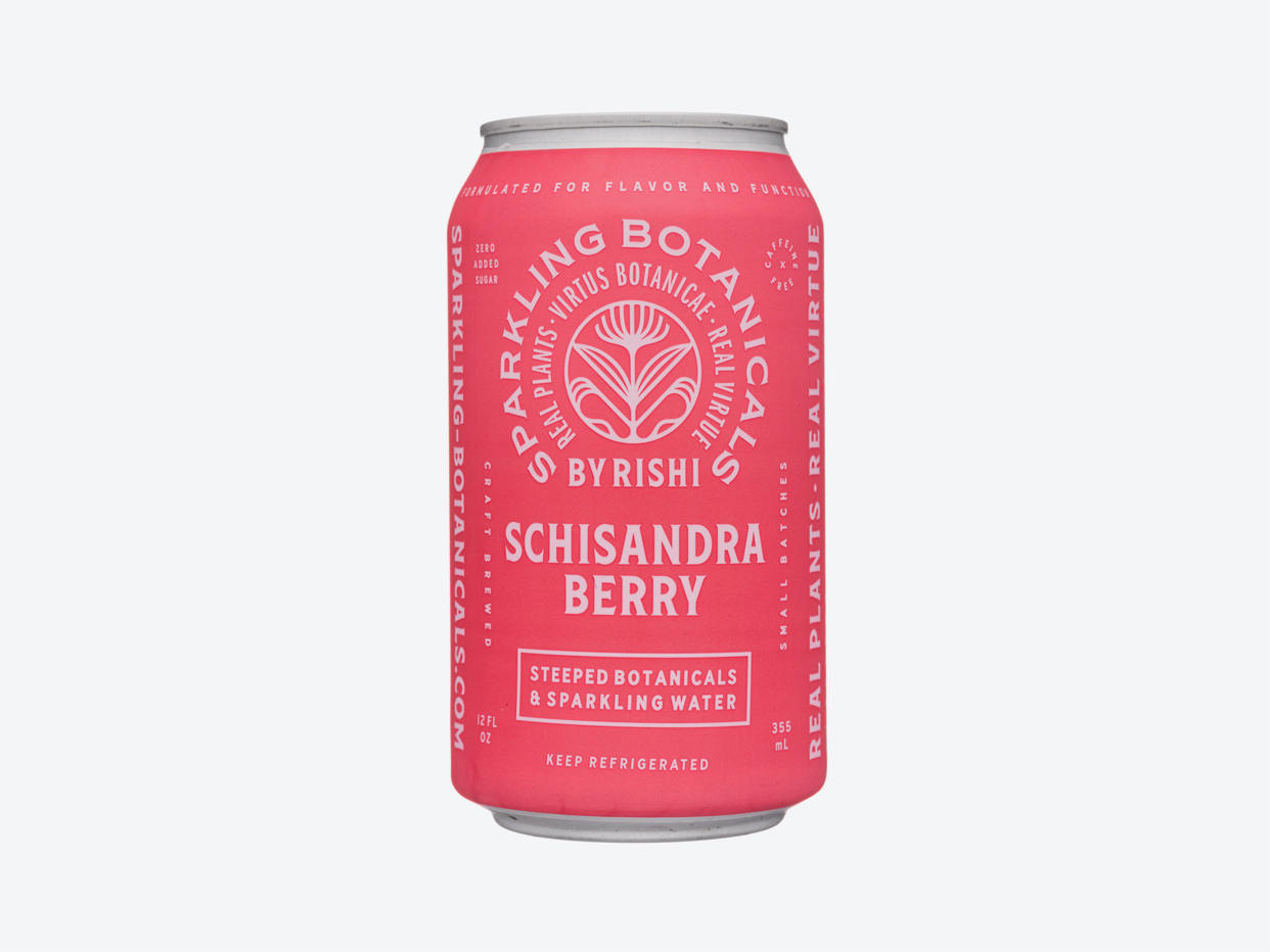 Rishi Sparkling Botanicals Tea - Schisandra Berry