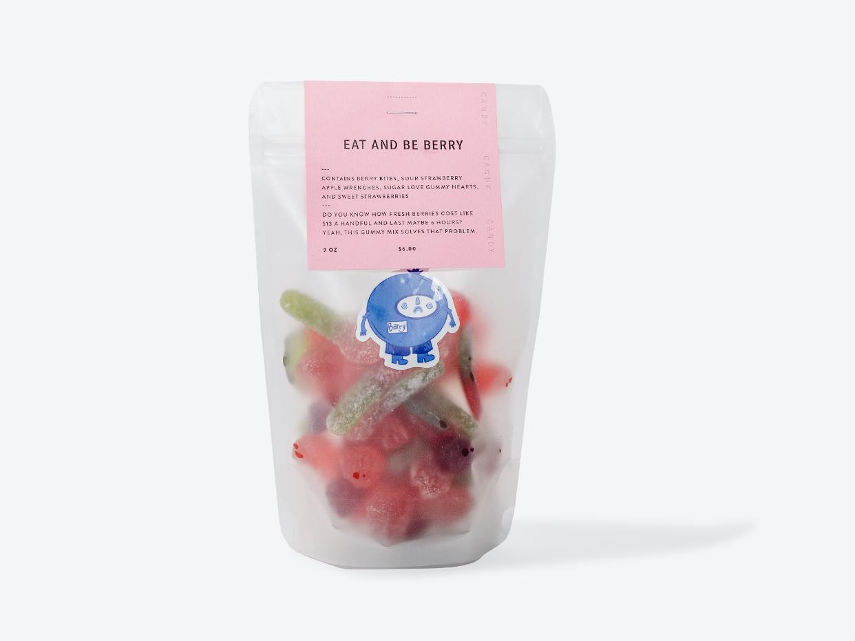 Foxtrot Eat & Be Berry Gummy Mix
