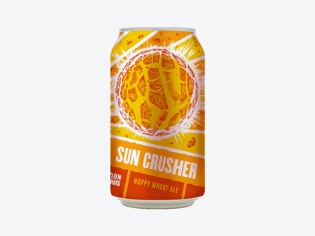 Revolution - Sun Crusher Summer Ale