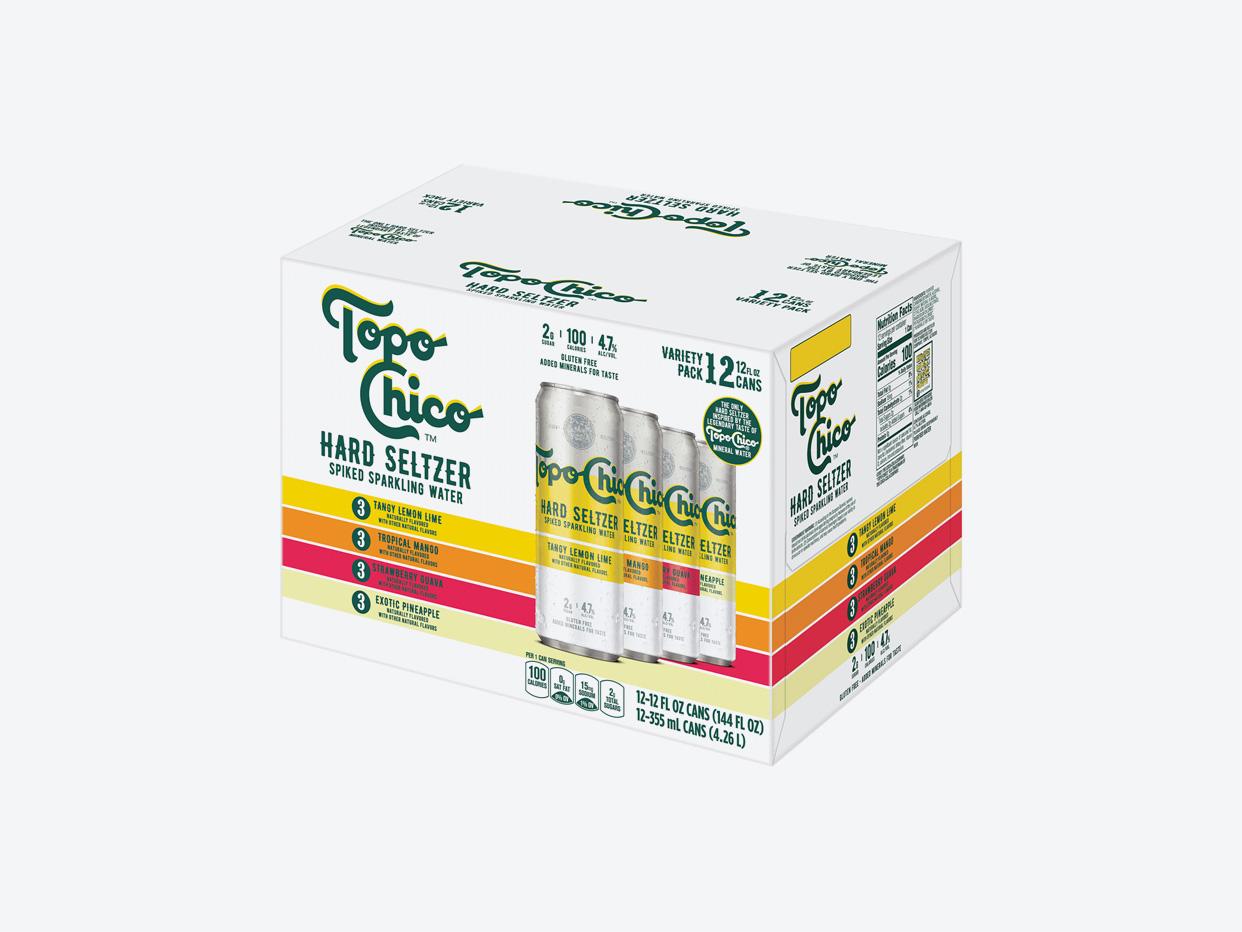 Topo Chico Hard Seltzer Variety 12pk