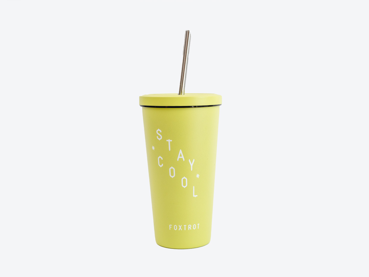 Foxtrot Stay Cool Tumbler - Lime