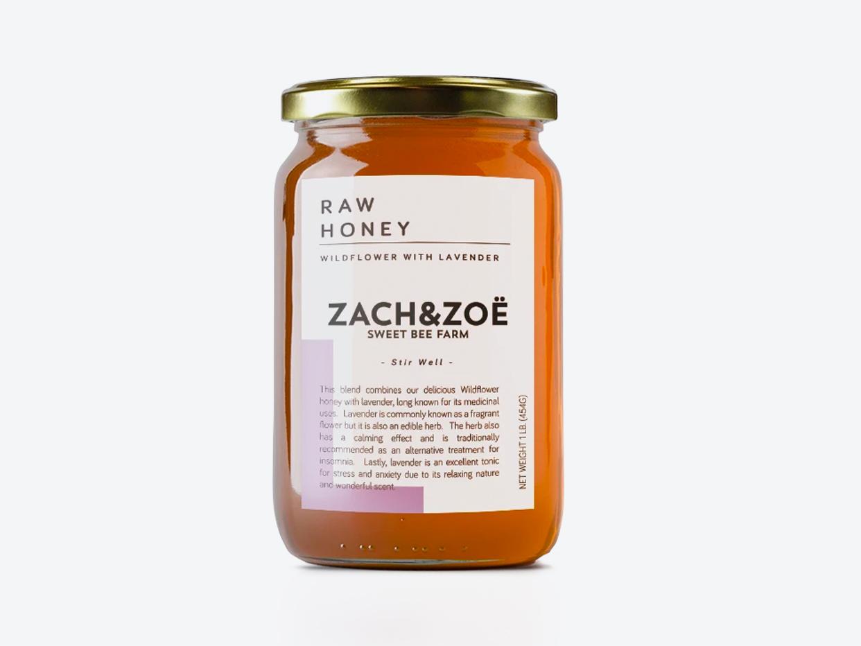 Zach & Zoë Sweet Bee Farm - Wildflower with Lavender