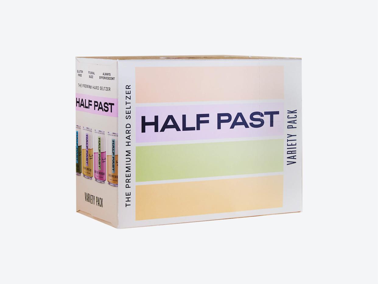 Half Past Hard Seltzer - Variety 12pk