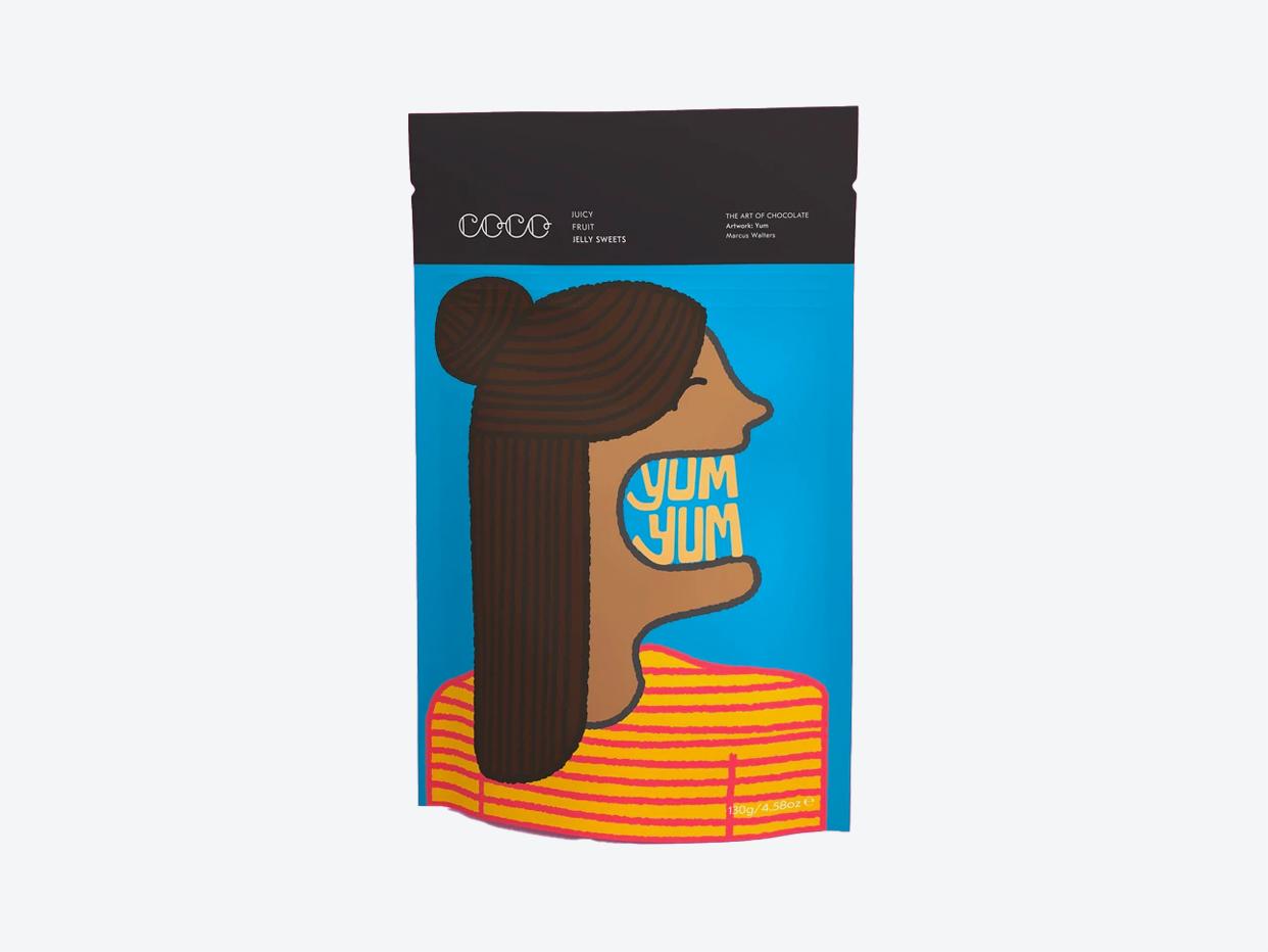 Coco Chocolatier Gummies - Juicy Fruit
